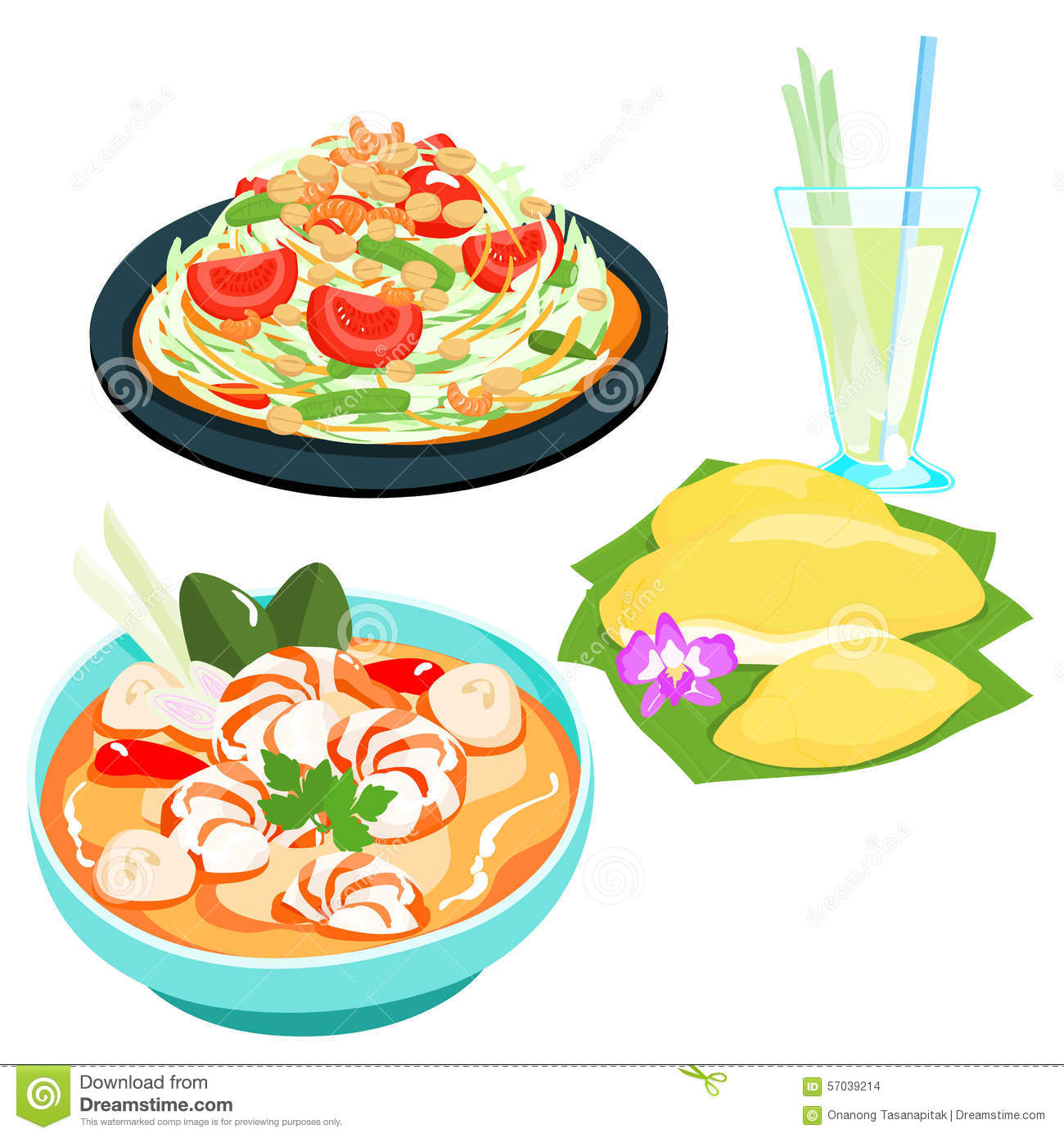 Showing post & media for Thailand food cartoon.