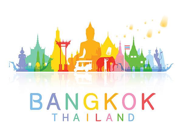 Best Thailand Illustrations, Royalty.