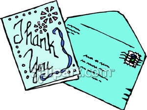 Clipart For Thank You Cards.