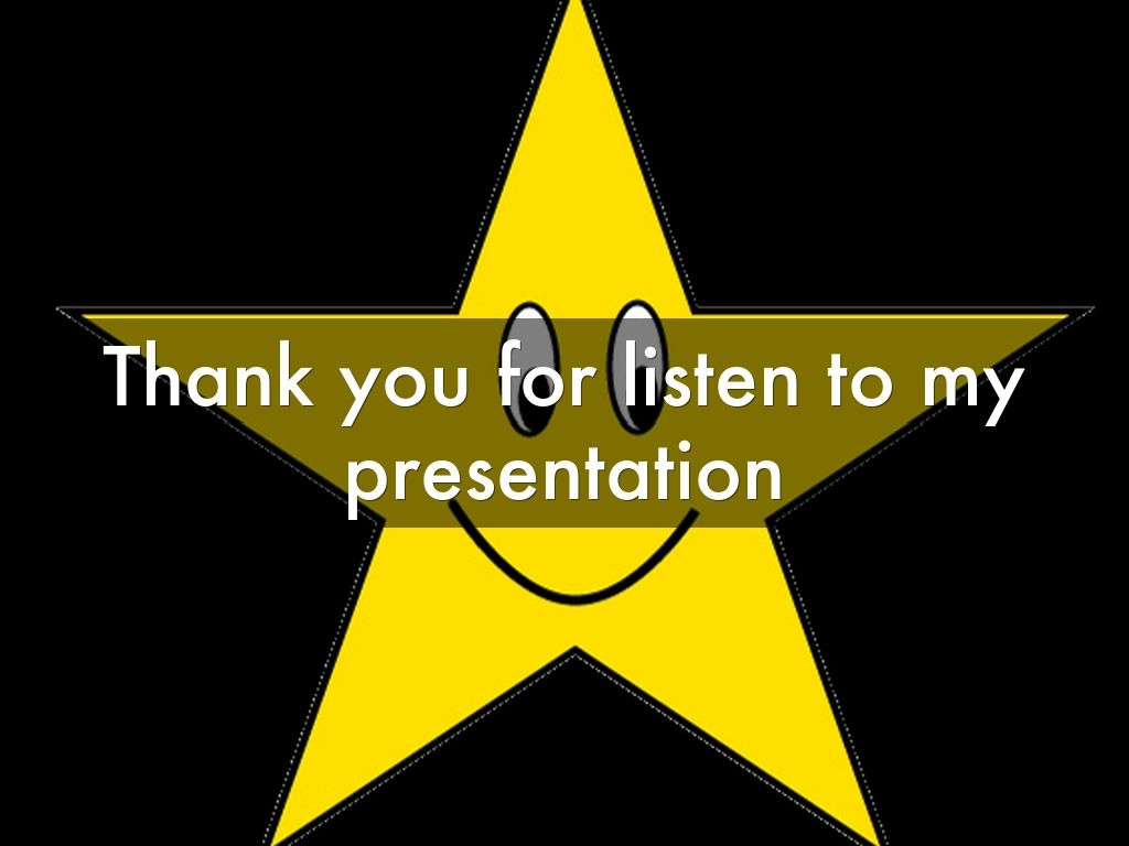 Thank You For Watching My Presentation Animation.