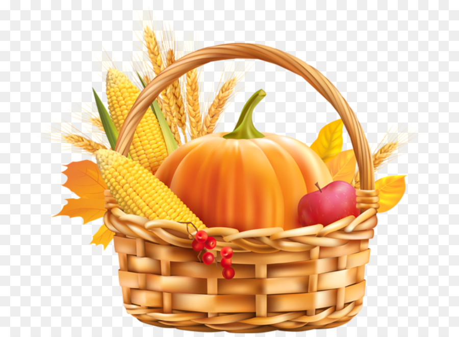 Thanksgiving Day Food Background clipart.