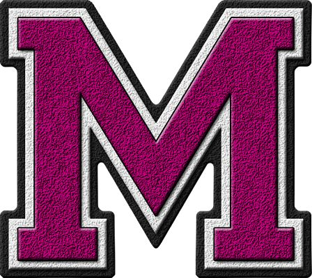 Clipart That Begins With Letter M.