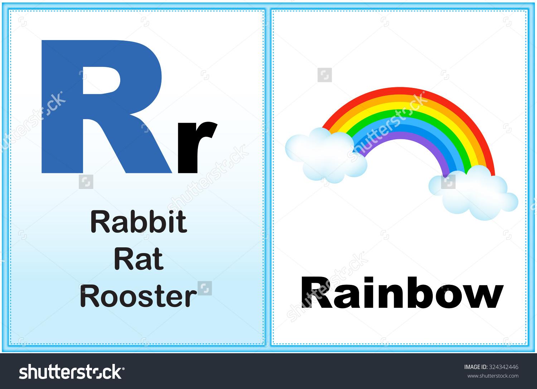 Alphabet Letter R Clipart Few Similar Stock Illustration 324342446.