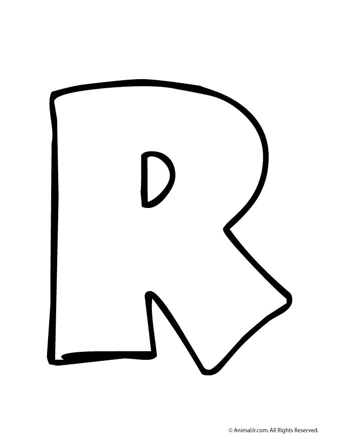 Pics Of Letter R.