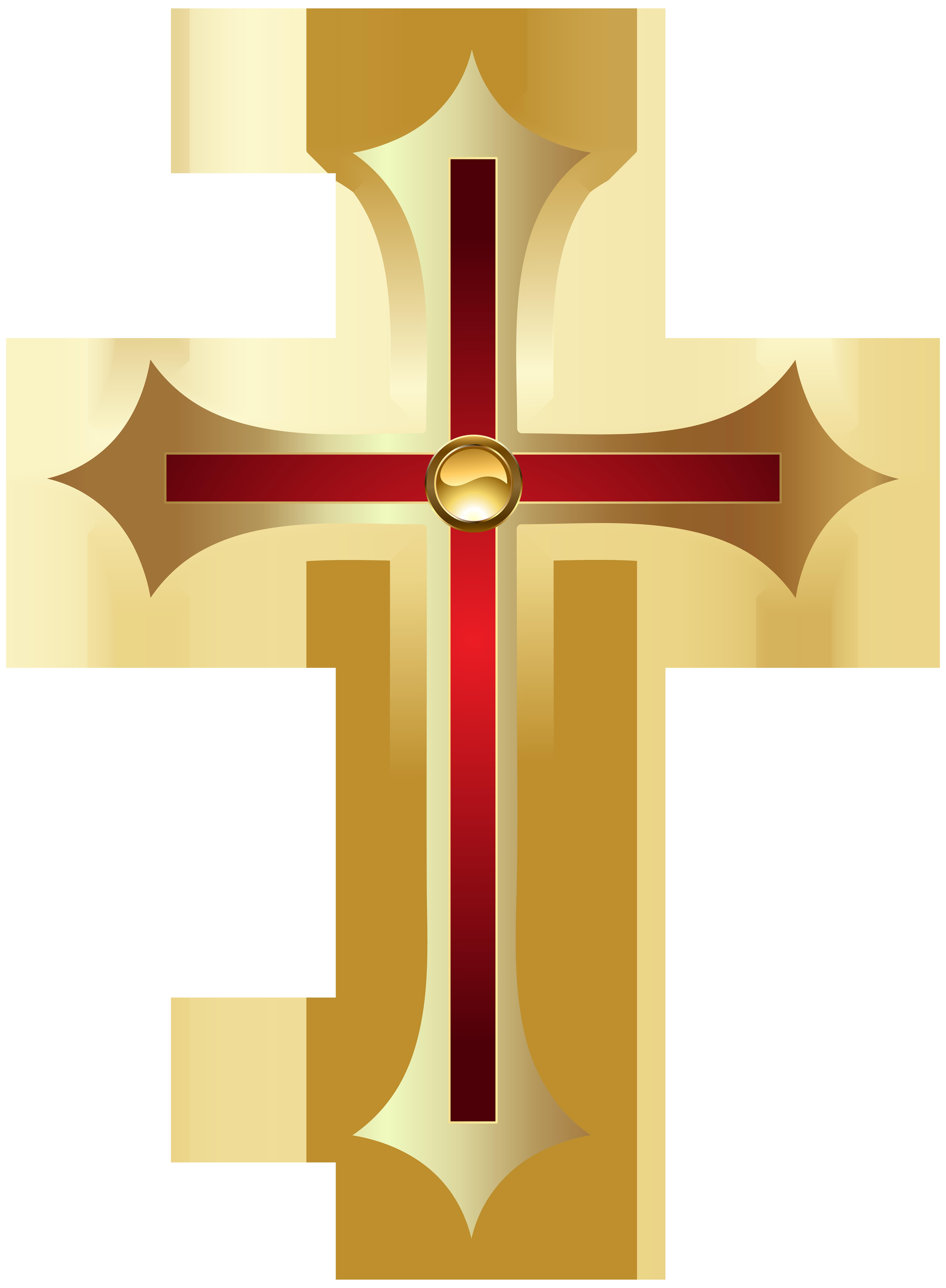 Cross PNG Clip Art Image.