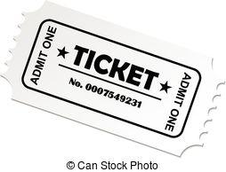 Clipart theatre ticket.