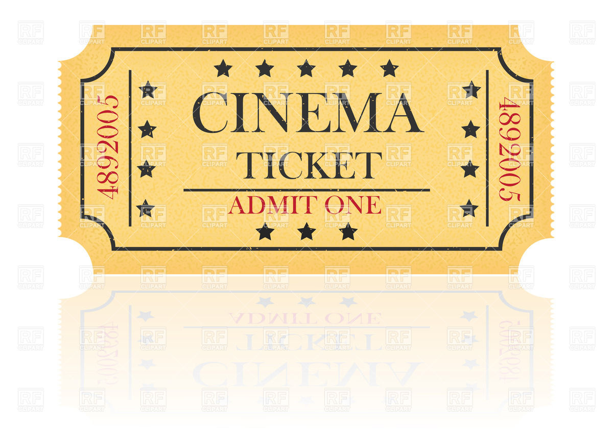clipart theatre ticket