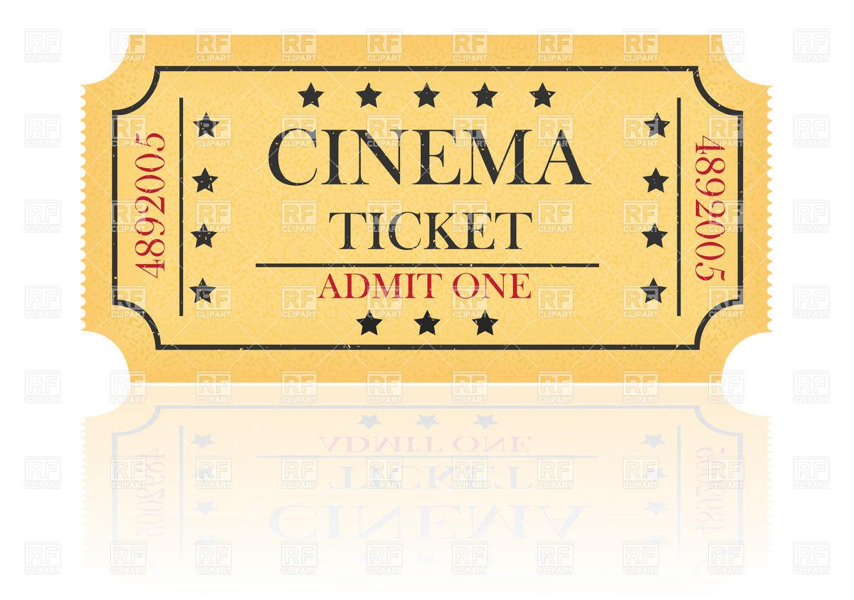Clipart Cinema Ticket.