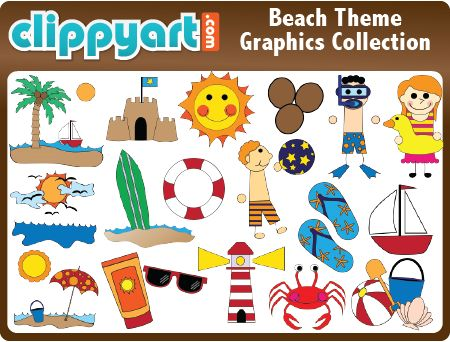 Free Beach Themes Cliparts, Download Free Clip Art, Free Clip Art on.