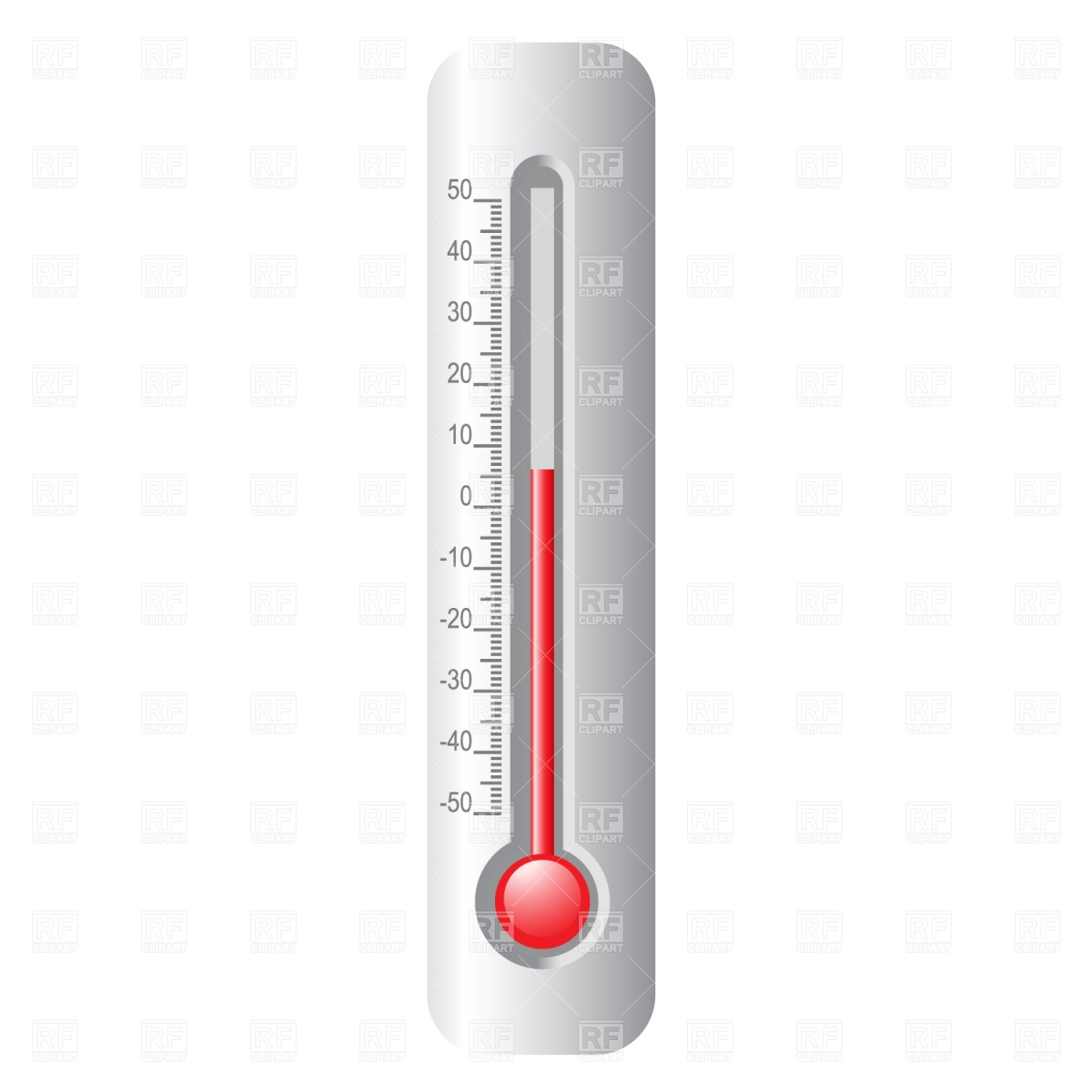 Thermometer Stock Vector Image.