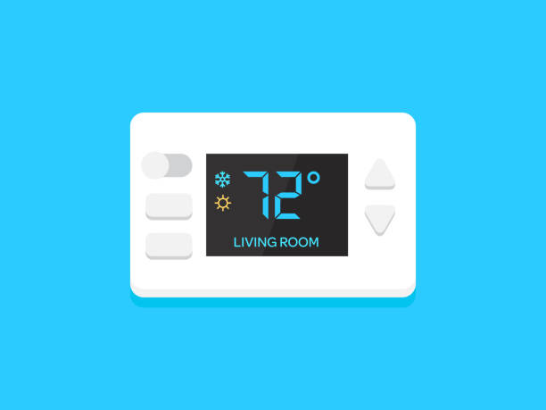 Best Thermostat Illustrations, Royalty.