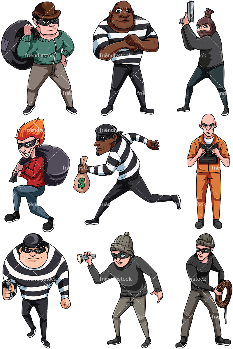 Thieves And Criminals Collection.