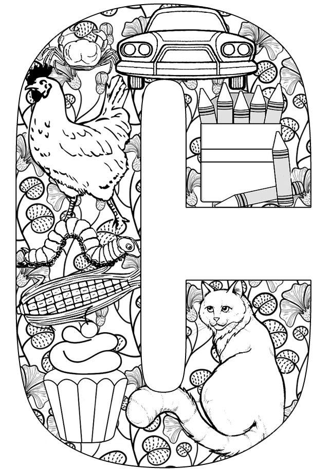 Coloring for adults.