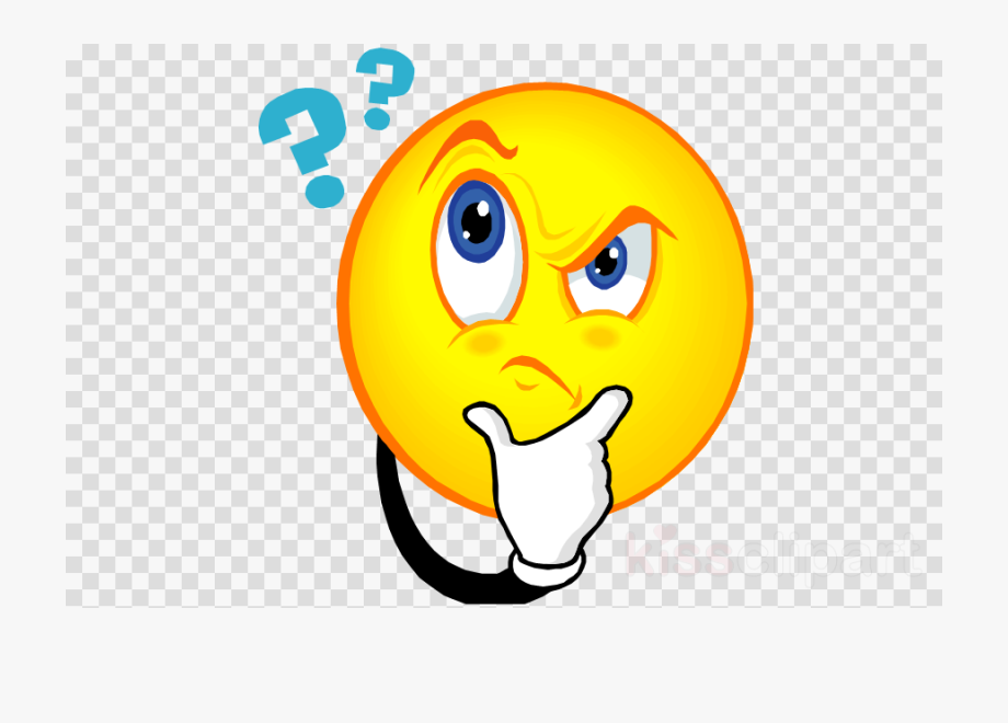 Person Thinking Clipart Emoticon.