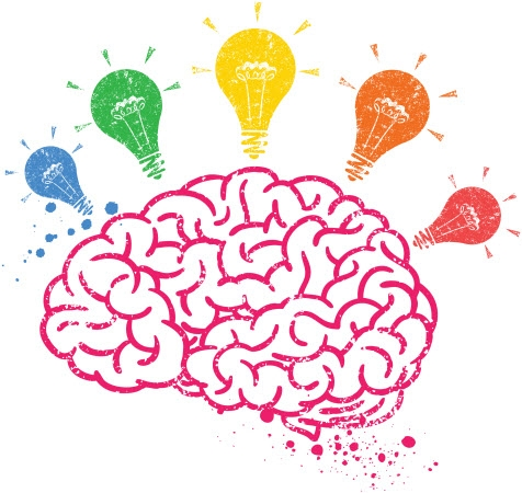 Thinking Brain Clipart For Kids.