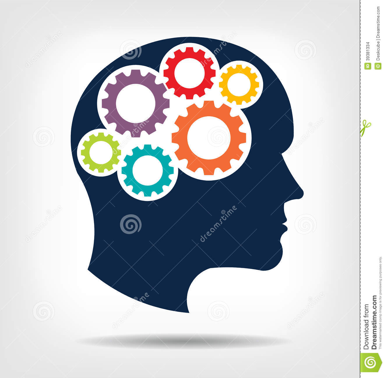Trends For > Thinking Brain Clipart.