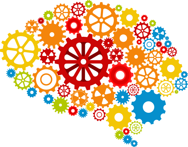 Free to share thinking brain clipart.