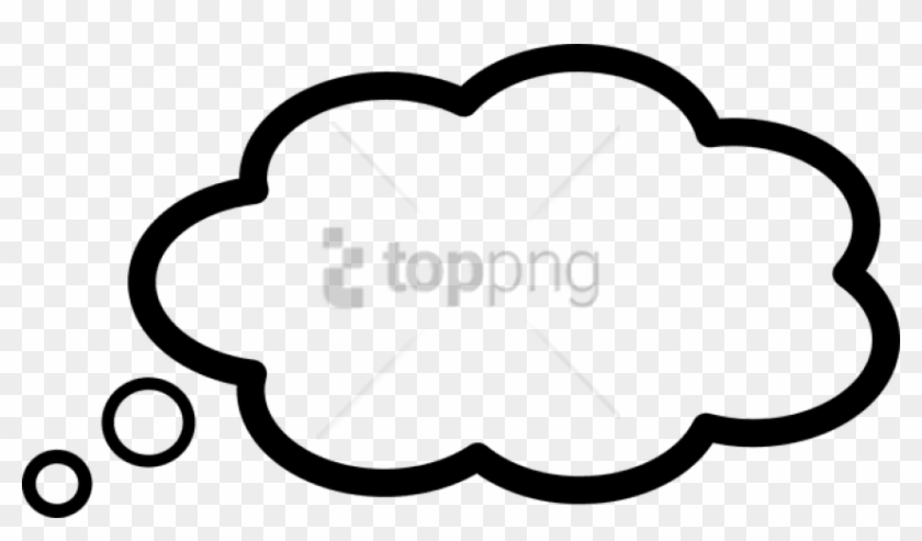 Free Png Thinking Cloud Png Png Image With Transparent.