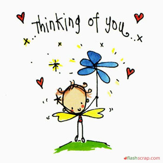 Thinking Of You Clipart Free.