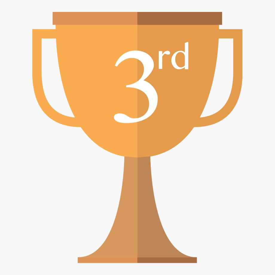 3rd Place Trophy.