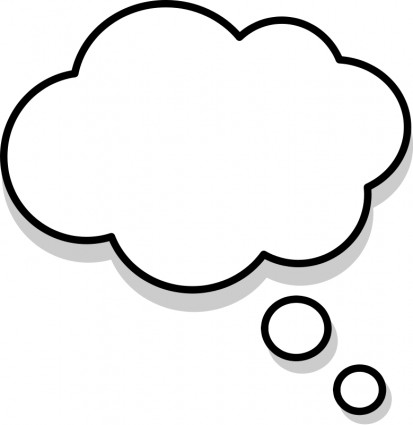 Free Thought Bubble, Download Free Clip Art, Free Clip Art.