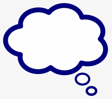 Free Thoughts Clip Art with No Background.