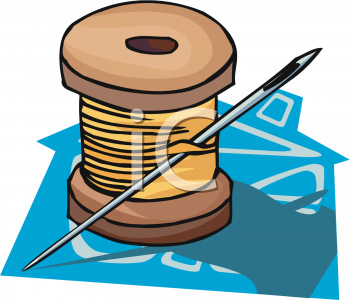 Spool of Thread Clipart Picture.