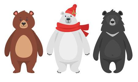482 Three Bears Stock Vector Illustration And Royalty Free Three.