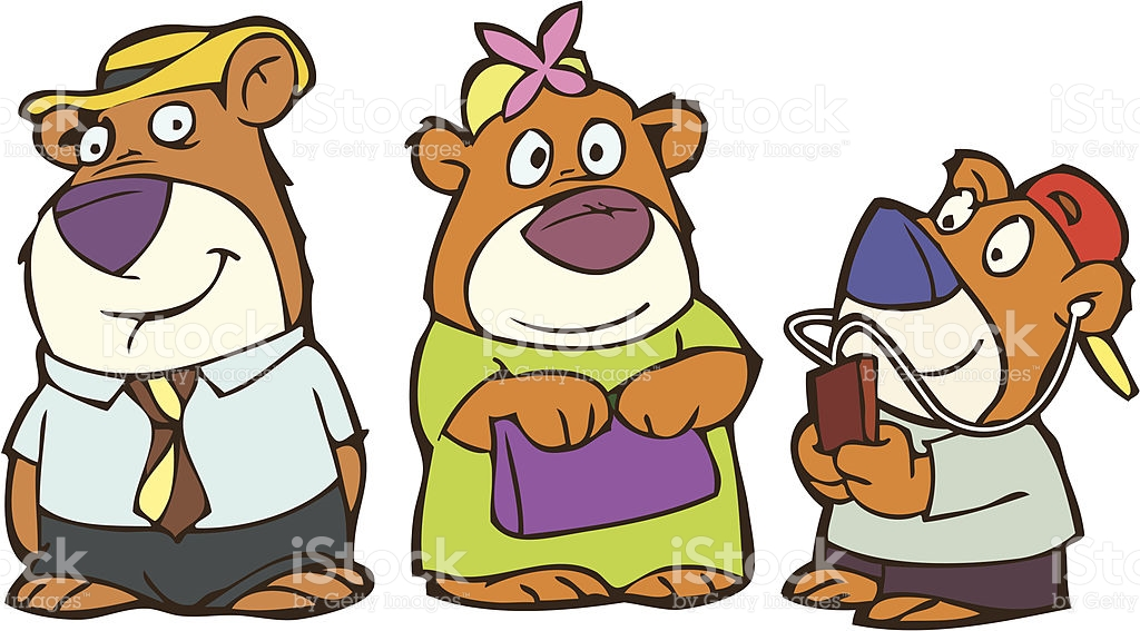 Three Bears PNG Transparent Three Bears.PNG Images..