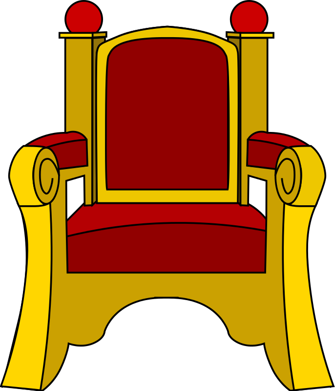 Free Clipart: Throne.