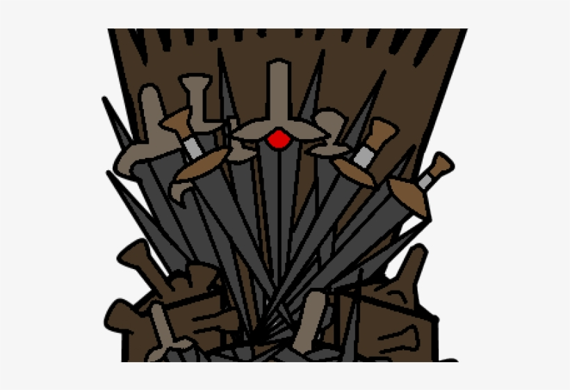 Game Of Thrones Clipart Iron Throne.