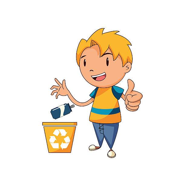 Boy throwing garbage clipart 6 » Clipart Portal.