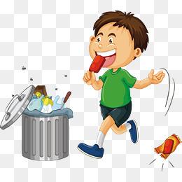 Boy Throwing Garbage Png & Free Boy Throwing Garbage.png Transparent.