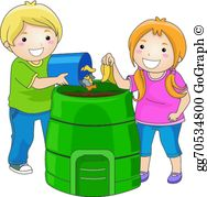 Throwing Trash Clip Art.