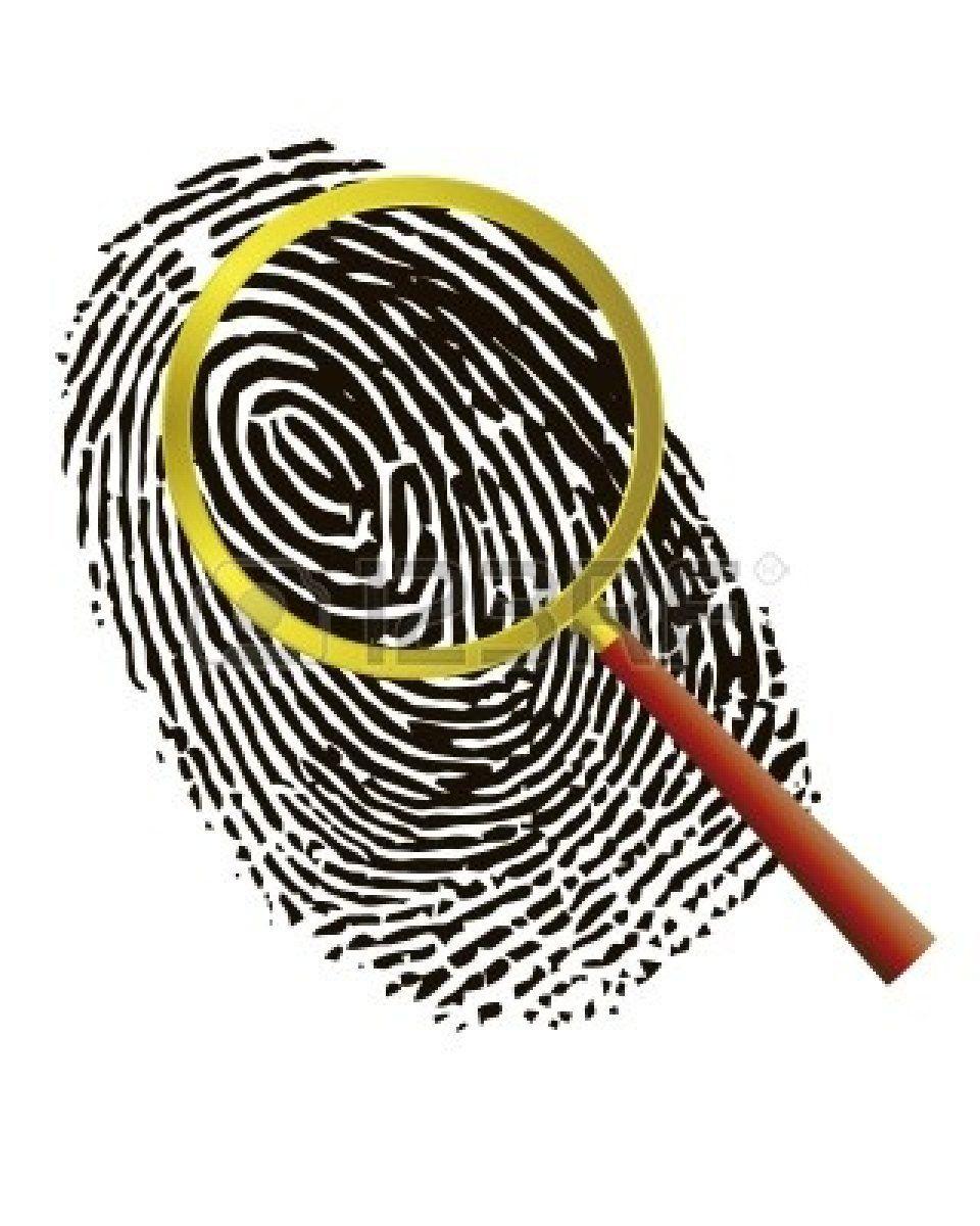 Thumbprint Clip Art.