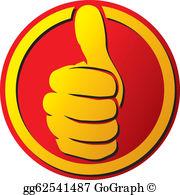 Thumbs Up Clip Art.