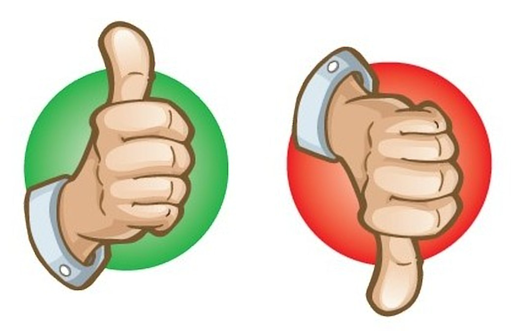 The Thumbs Are Back! Thumbs Up/Thumbs Down: October 17, 2018.