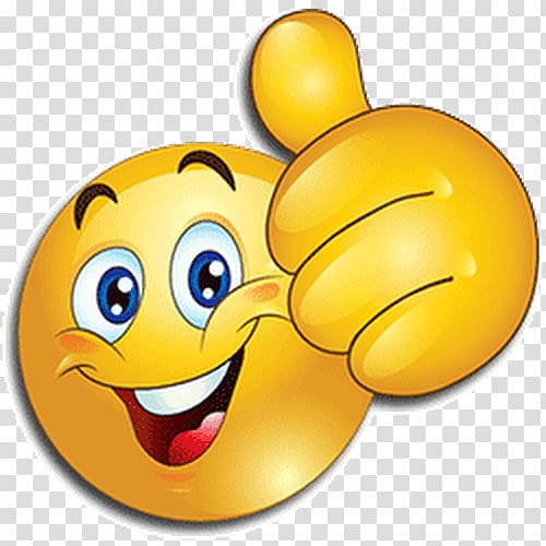 Thumbs up emoji illustration, WhatsApp Emoji Android.