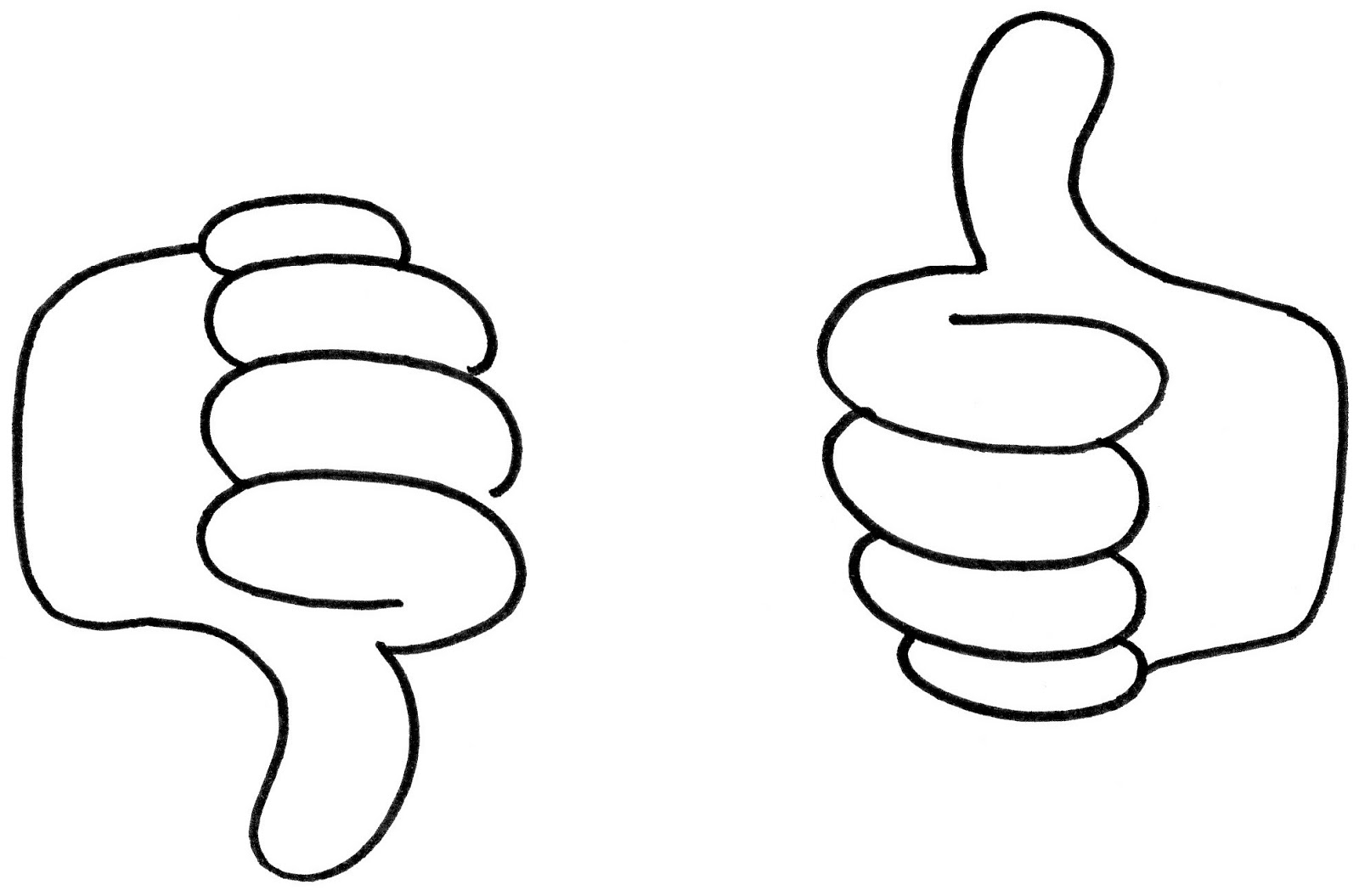 102+ Thumbs Up Thumbs Down Clipart.