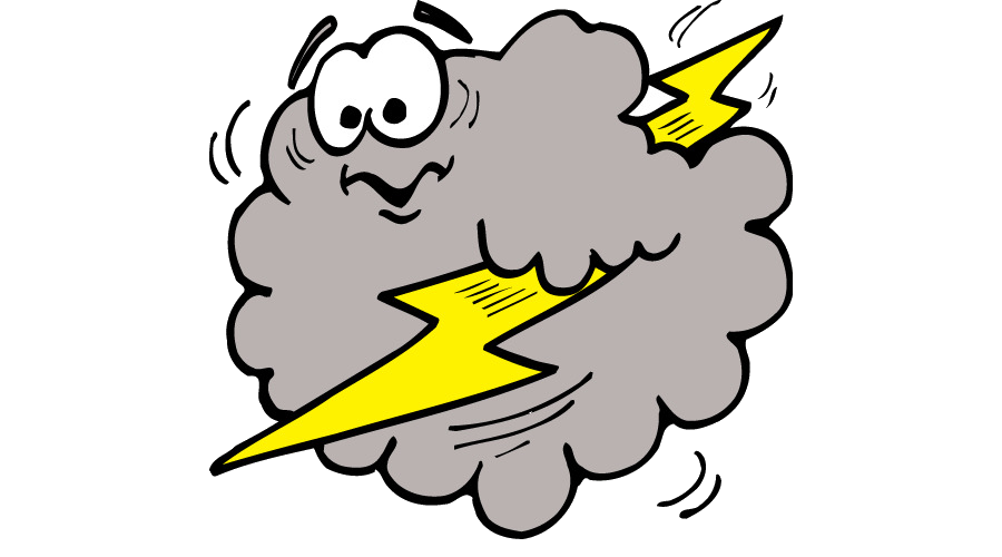 Thunderstorm Cloud Lightning Cliparts Free Transparent Png.