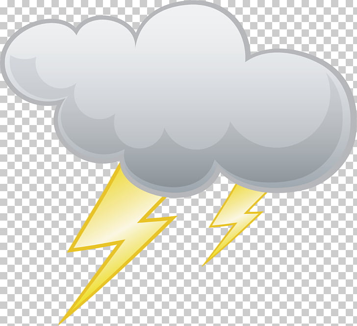 Lightning Cloud Thunder , lightning PNG clipart.