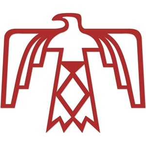 Silhouette Design Store: native american thunderbird design.