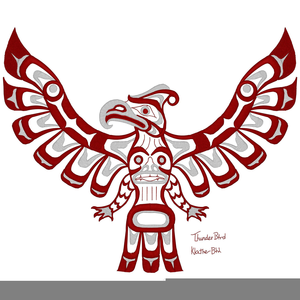 Indian Thunderbird Clipart.