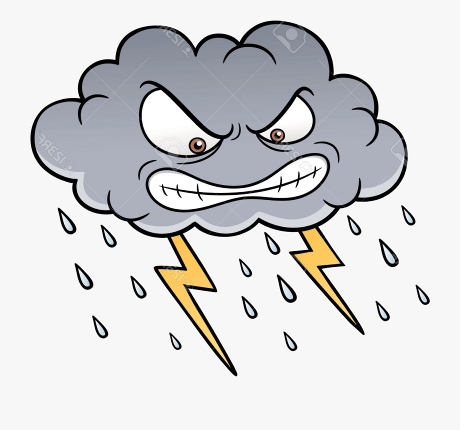 Thunderstorm Cliparts Free Best On Transparent Png.