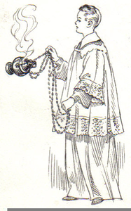 Thurible Clipart.