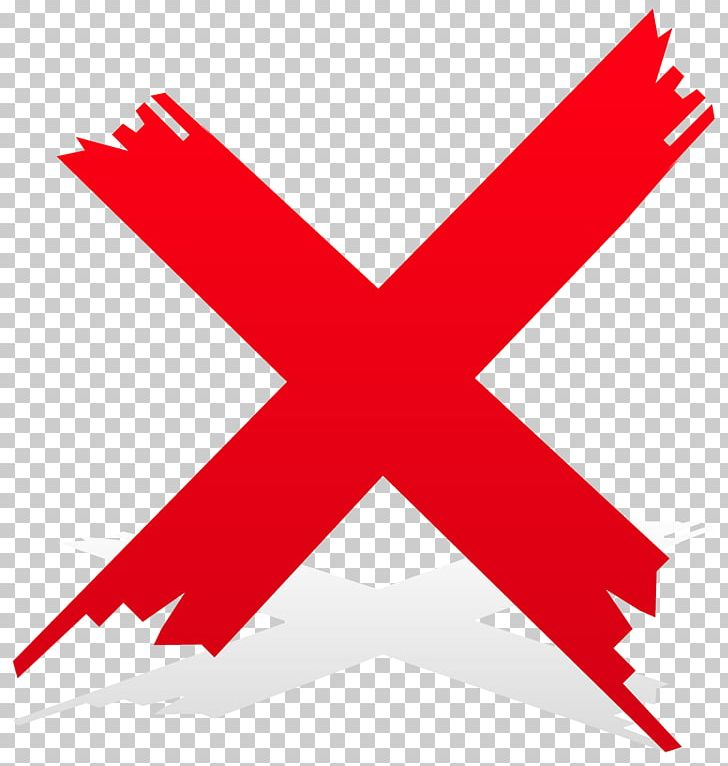 Check Mark Cross Red Tick PNG, Clipart, Angle, Area, Check Mark.