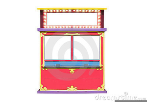 Movie Ticket Booth Clipart.
