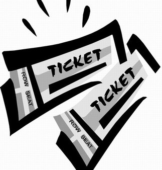 Tickets clipart 2 » Clipart Station.