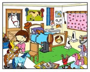 2417 Bedroom free clipart.