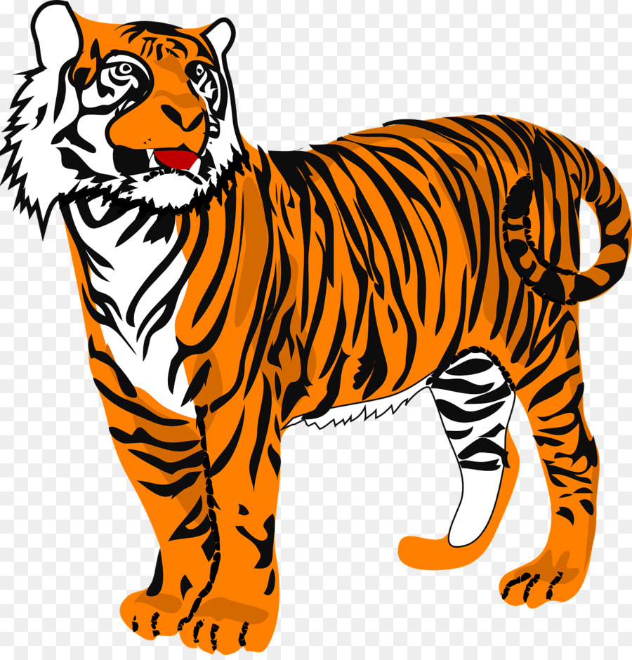 Tiger Cartoon clipart.